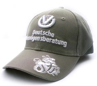 Free Shipping 2014 michael schumacher Dvag Limit motorcycle F1 racing embroidery Car 100% cotton Sports Baseball Cap hat