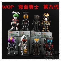 wholesale WCF Masked Rider Kamen Rider 9th generation 8pcs set action figure gift toys dools model