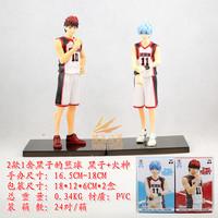 Japan anime Kuroko no Basketball Kuroko Tetsuya+Kagami Taiga 2pcs set pvc action figure classic toys for Boyfriend gift