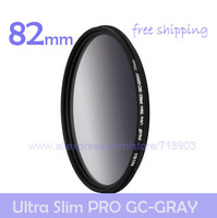 NiSi 82mm Ultra-thin GC-GRAY Gradient Gray Neutral Density Slim Filter for Canon Nikon Pentax Fujifilm Sony Tamron Sigma Samsung