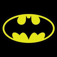 High Quality  marvel anime comic Batman bat man logo Casual Fashion T-shirt Tee Dress Camiseta Cloth  T shirt