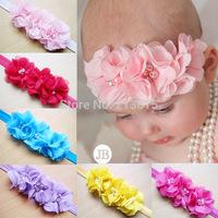 Free Shipping New Style Beautiful Headband hairband Baby Girls flowers headbands,kids' hair accessories Baby SD085