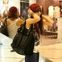 2014 bags fashion canvas bag women's handbag shoulder bag