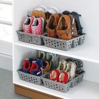 Free shipping Sanada shoes storage box finishing frame simple shoe box shoe hanger
