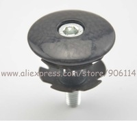 "No logo  Full Carbon fiber Headset Top Cap 1 1/8"" headset Top Cap + Star nut"