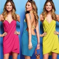 Cover Ups Summer Women Beach Dress Bohemia Swimwear Pareo Wear Summer Clothes