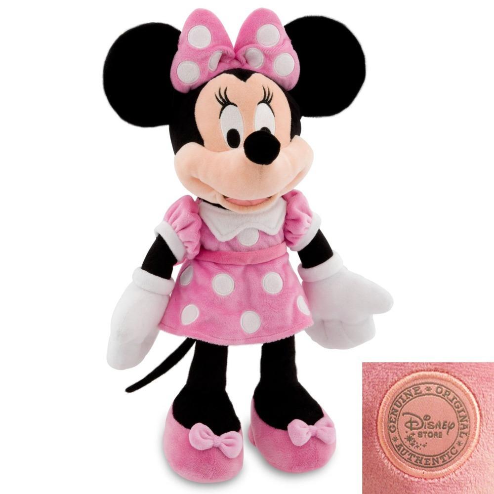 original minnie mouse jouet en peluche minnie 48cm rose mignon des animaux en peluche minnie mickey mouse fille amiprofils jouets pour les enfants