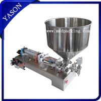 semi automatic single head Pneumatic Paste Tube Filling Machine (10~300ml)