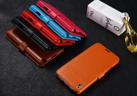 2014 New K-cool TOP A+ Brand Genuine Leather Cover Case for Samsung Galaxy Note 3 Note3 N9000 Wallet Cover Dropship Wholesale