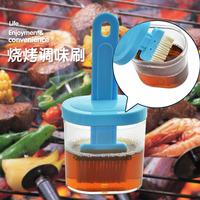 Free shipping Komi brush bbq brush sauce brush with cover oil 1275