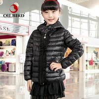 Oilbird child down coat princess children's clothing down coat jaqueta feminina Down & Parkas