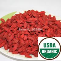 Promotion!!Organic Dried Goji Berries 250g,Pure 250g/bag organic wolf Berry,Ningxia Goji Herbal Tea Personal Care Food