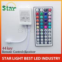 1PC DC 12V 3*2 A 44 Keys LED Controller IR Remote controller+GRB Port for RGB LED Strip Light 44 Key RGB Remote free shipping