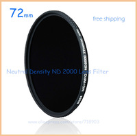 Nisi Ultra Thin 72mm ND2000 ND Neutral Density Filter 11 Stops Exposure ND 2000 Super Slim Filter 72 mm