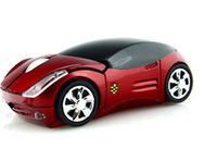 1pcs Free shipping New Colorfully Light Car USB Wired Mouse forPc Laptop Computer