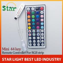 Free shipping 1pcs/lot rgb led controller 44 Key IR Remote controller RGB LED Mini Controller wireless for LED Strip 5050 3528(China (Mainland))
