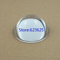 4pcs  Diameter 52 mm Height 25.5mm optical glass lens  LED flat convex lens  Electric lamp lens