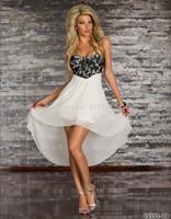 new European and American Women fashion elegant chiffon dress S.M.L