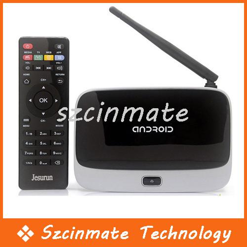 XBMC CS918 Smart TV BOX Quad Core RK3188 Android 4.2.2 Google Internet TV WiFi Bluetooth 50pcs/lot Wholesale(China (Mainland))