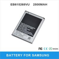 2500mAh Phone Battery EB615268VU For Samsung Galaxy Note I9220 I9228 I889 N7000 GT-N7000 GT-I9220 GT-I9228 GT-I889 Batery