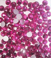 10 Gross SS5  Fuchsia 025 (1.7mm)-1440pcs  high quality Gems Crystal Flat Back Rhinestones Nail Art Non Hotfix Decoration