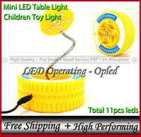 novelty item, Flying Wheel style - Toy LED Lamp, mini baby toy led table light (functional & practical for kids children)