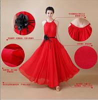 Hot ! 2014 summer new , ladies fashion elegant seaside beach chiffon dress Bohemian dress put on a large , free shipping