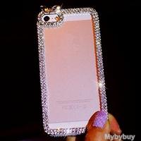 Luxury Bling Diamond Case For iPhone 6 6 Plus, Bling Case For iPhone 5 5S 5C, For iPhone 4 4S Rhinestone Crystal Case.