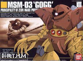 Bandai-HGUC-08-MSM-03-Gogg-reunidos-modelo-Gundam-modelo-kit-maqueta
