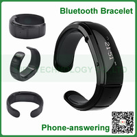 Smartwatch Bluetooth Bracelet Watch Wristband Caller ID Vibrating Alert Mic Speaker for iPhone 5s for Note 3 S4 Mobile Phone