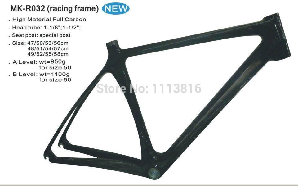 Carbon fiber bike frame ,Road 700C,Material:Carbon, Weave:3K/12K/UDC Carbon Weave(China (Mainland))