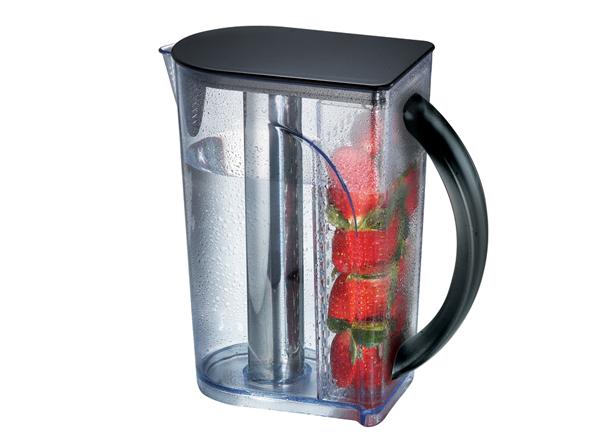Wholesale - Free shipping Kinox world patent 1.8L chilled beverage server, AQUARIS koolkore pitcher,ice core pitcher(China (Mainland))