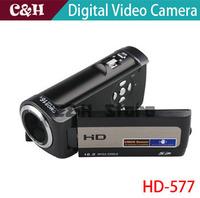 1080P Full HD Digital Video CameraCMOS Sensor 16 Mega Pixels Build-in Microphone And Speaker With Eight LanguagesDigital Camera