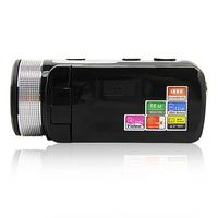 DHL FREE 12pcs/lot HD-55E 2.7 TFT LCD HD 720P 16Mp Digital Video Camera Recorder DV 16X Zoom Black