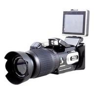 HD Digital DV Camcorder Video Camera HD9100 + 16x Telephoto Lens + Wide-angle Lens 2.5'' LCD 16MP