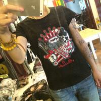 Free ship fashion t-shirt men's tee 100% cotton shirt Queen print 3 pieces/ lot white gray black for choose poker figure