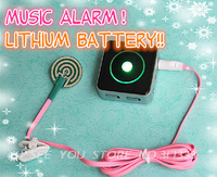 N003 Wholesale!Rechargeable Lithium battery !Wired Baby Bed Wetting Alarm Enuresis Urine