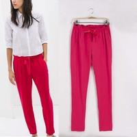Free shipping brand za* Haroun Pants Women Trousers American apparel pants Summer 3 colors