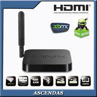 New 2014 MINIX NEO X7 Mini Quad Core Google IPTV RK3188 HDMI XBMC 3D Smart TV Box Free Shipping Android Media Player