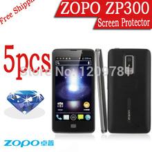 5pcs Brand Cellphone Diamond Sparkling Screen Protector Film For ZOPO 300 ZP300.Quad Core Phone LCD Film.ZOPO 500 C2 C3 700 780
