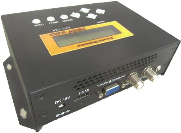 REM7511M VGA+HDMI to RF H.264 HD Modulator with encoding module Home-Version DVB-C modulation standard(China (Mainland))
