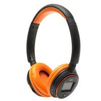 N95 Stereo headphone HiFi Wireless Headphone Plug-card style MP3 Earphone with LCD Display Heavy Bass Headset FM Zealot N-95