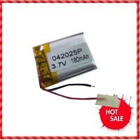 3.7V lithium polymer battery 402030 402025 200mah MP3 MP4 MP5 Bluetooth voice recorder