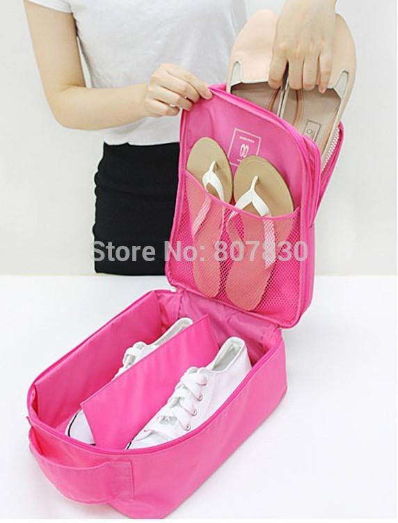 Factory direct sale spot supply method has monopoly travel series waterproof shoe bag to receive bag storage box storage shoe(China (Mainland))