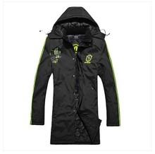 Men's hooded windbreaker jacket coat windproof jacket winter jacket>xs L XL XXL XXXL XXXXL(China (Mainland))