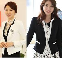 Autumn new long-sleeved Korean Women Slim small suit jacket temperament suit casual career