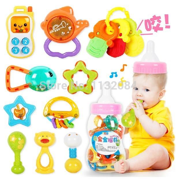 Купить Детская погремушка Brand New 13pcs/0/1years 001 с бесплатной доставкой