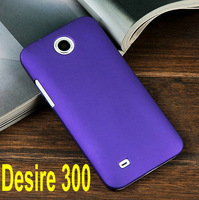 2Pcs/lot,High Quality Slim Matte Hard Plastic Case for HTC Desire 300 cover case Desire 300 case cover,Free Shipping