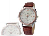 Free shipping 2014 hot sale business brand men's military luxury casual watch, Big dial quartz calendar watch good gift 8231