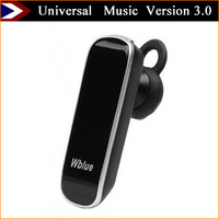 New Arrival Wireless Earphone Bluetooth Headset Universal Wireless Headphones Version 3.0 Support Music With Free Shipping